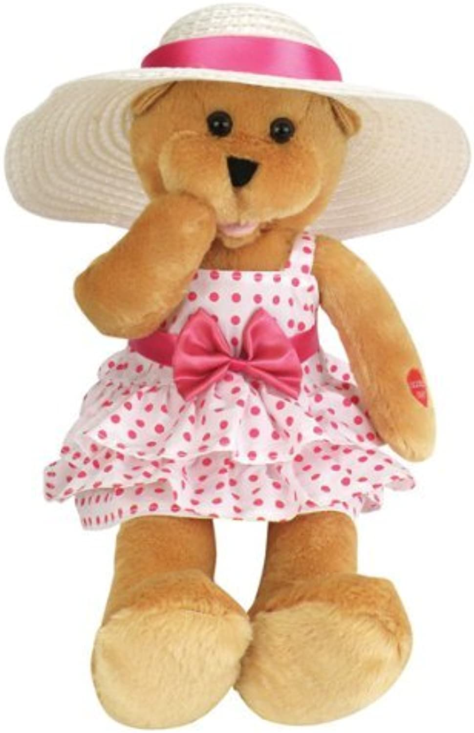 barato y de moda Chantilly Lane Doris Bear Bear Bear Sings Que Sera Sera 17 Plush by Chantilly Lane  mas preferencial