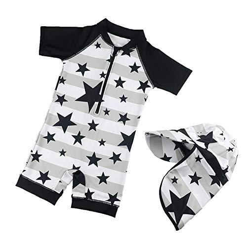 Happy Cherry Jungen Badehose UV-Schutz Einteiler Kinder Badeanzug Schwimmbekleidung Schwimmanzüge Kleinkinder