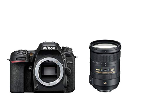 Nikon D7500 Digital SLR im DX Format mit Nikon AF-S DX 18-200mm 1:3,5-5,6G ED VRII (20,9 MP, EXPEED 5-Prozessor, AF-System mit 51 Messfeldern, ISO 100-51.200, 4K UHD Video incl. Zeitraffer Video)