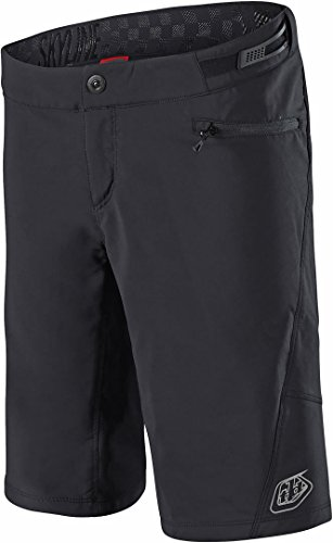 Troy Lee Designs Skyline Solid Women's Off-Road BMX Cycling Shorts - Black/Large