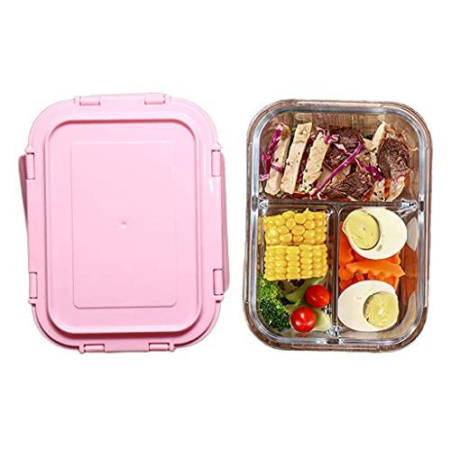 N\C Glasverschlussdeckel Lebensmittelbehälter, schmutzabweisend, auslaufsicher, ideal für unterwegs und Gefrierschrank für ofensichere Lebensmittelbehälter LKWK