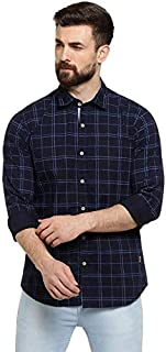 Campus Sutra Men's Checks Casual Shirts