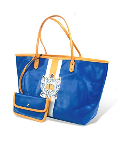 Sigma Gamma Rho Sorority Womens Tote Bag Blue