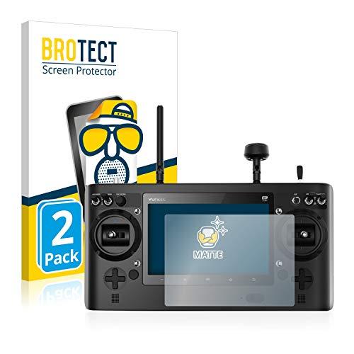 BROTECT 2X Entspiegelungs-Schutzfolie kompatibel mit Yuneec ST16 Displayschutz-Folie Matt, Anti-Reflex, Anti-Fingerprint