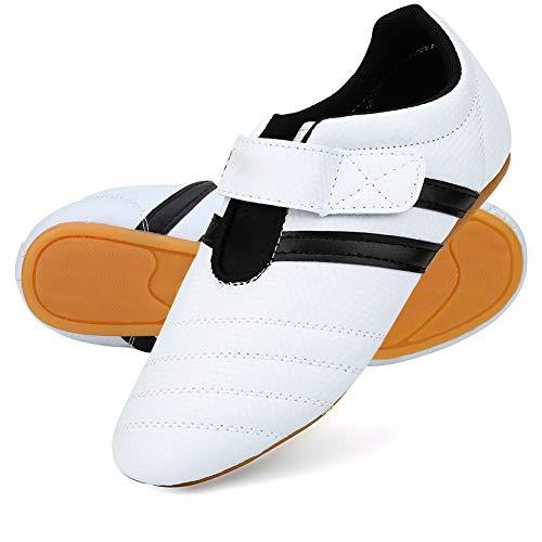 Taekwondoschoenen, ademende vechtsportschoenen, Kung Fu TaiChi-schoenen voor sportboksen voor volwassenen en kinderen (45)
