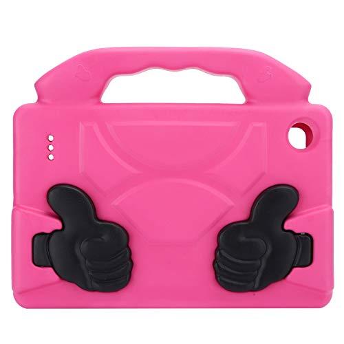 Voluxe Cubierta de protección de la tableta, cubierta protectora plana anti caída, accesorios de la computadora de la cáscara protectora de la tableta para el ordenador (rojo rosa)
