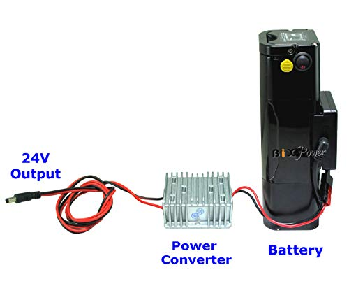 BiXPower Super Capacity (504 Watt-Hour or 140,000mAh) Battery Pack with 24V Power Converter -
