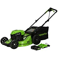 Greenworks 2 x 24V (48V) 21 inch Brushless Self-Propelled Mower