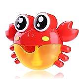 GLOBEAGLE Baby Badespielzeug Bubble Maker Wasser Spielzeug Maschine Pool Schwimmen Badewanne Seife...