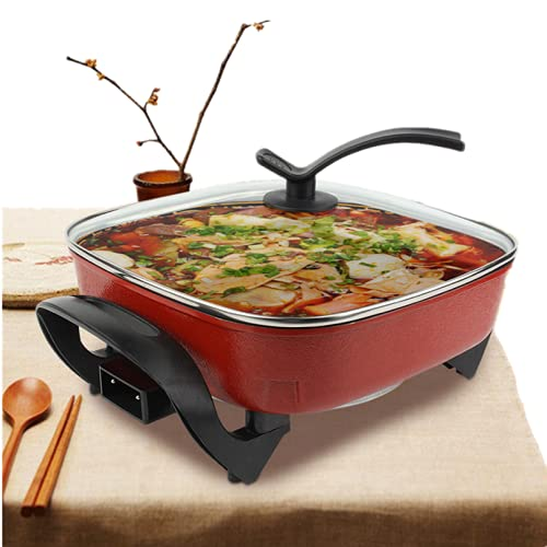 Electric Frying Pan Electric Skillet Gril,5l Electric Frying Pan...