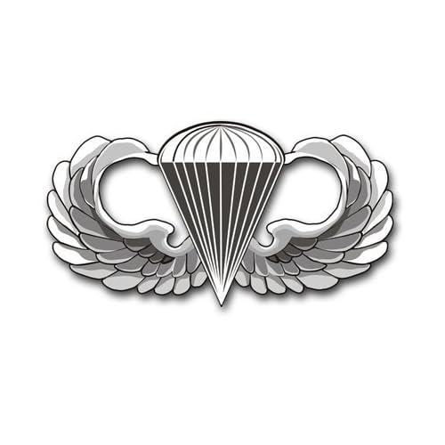 No Shine Dress Miniature Parachutist Jump Wings