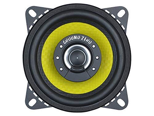 Ground Zero Lautsprecher GZTF 4.0X 200W 100 mm 2 Wege Koax passend für Mercedes Sprinter 901 902 903 904 905 1995-2006 Armaturenbrett vorne