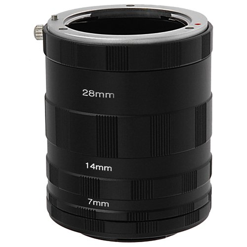 Fotodiox Macro Extension Tube Set Compatible with Micro Four Thirds Mount Cameras - for Extreme Macro Photography