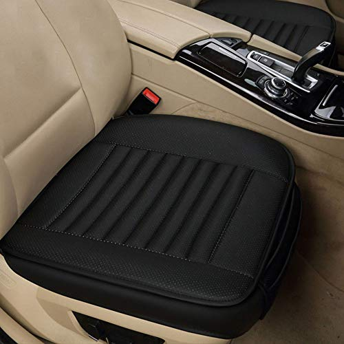 Yorking Car Seat Pads,Front Car Seat Cover Breathable Leather Cushion...