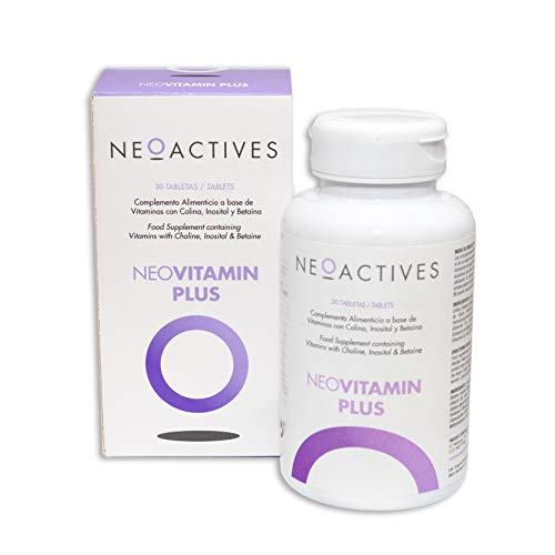 NeoVitamin Plus | with Significant, Balanced, and Highly Bioavailable Amounts | Vitamin A, Vitamin D3, Vitamin E, Vitamin K2, Vitamin C, Vitamins B, Folic Acid, Biotin, Choline (30)
