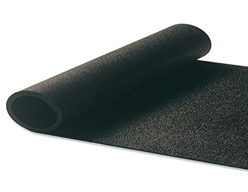 Erdungsmatte, Antistatikmatte, starr, hochwertig mit Zubehör, ableitfähig (kein Einrollen), Schwarz , Large Under Feet Earth Mat Kit