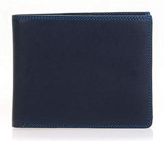 Mywalit Dark Blue Leather For Men - Flap Wallets