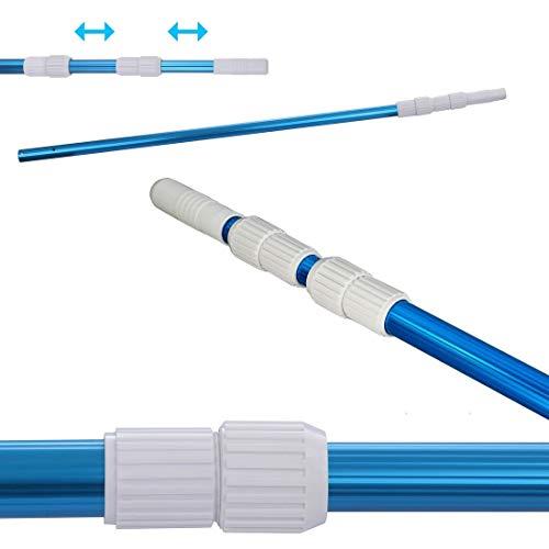 your GEAR Poolstange PPS-3x80 Aluminium Teleskopstange 3-teilig 100-240 cm Stange zur Poolreinigung
