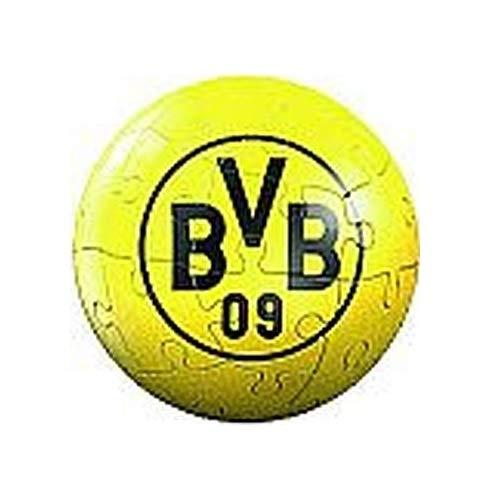 Windworks Ravensburger 5 cm Puzzleball 27 Teile Fußball Bundesliga mit Vereinslogo (BVB Borussia Dortmund)