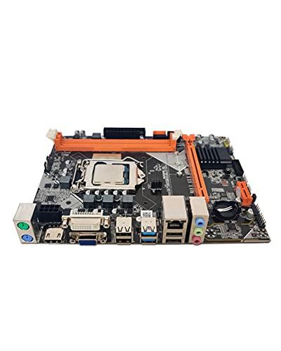 GIAO B75 Apto para Placa Base Fit for LGA1155 DDR3 + Intel Core Quad Core I5-3570CPU Pantalla de núcleo Integrado Frecuencia Principal 3.4GHZ Kit de Placa Base