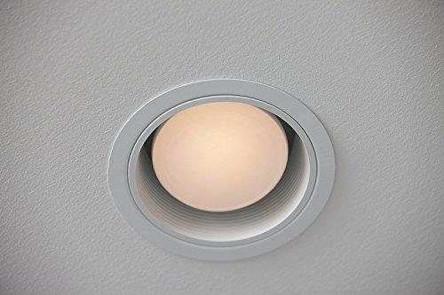 Philips LED Dimmable BR30 Light Bulb: 650-Lumen, 5000-Kelvin, 8-Watt (65-Watt Equivalent), E26 Base, Daylight, 4-Pack