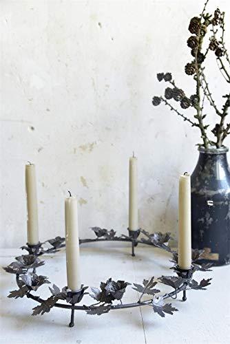 Jeanne d Suite Arc Living Adventkrans krans kandelaar brocante kandelaar Ø 41 cm Art.572127