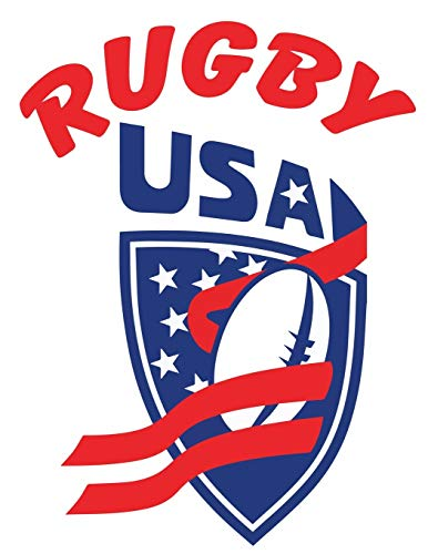 Rugby USA: Rugby Journal for journaling |Rugby sport Notebook 110 pages 8.5x11 inches |super rugby| coaching rugby| Gift for rugby players men and woman| ball sports