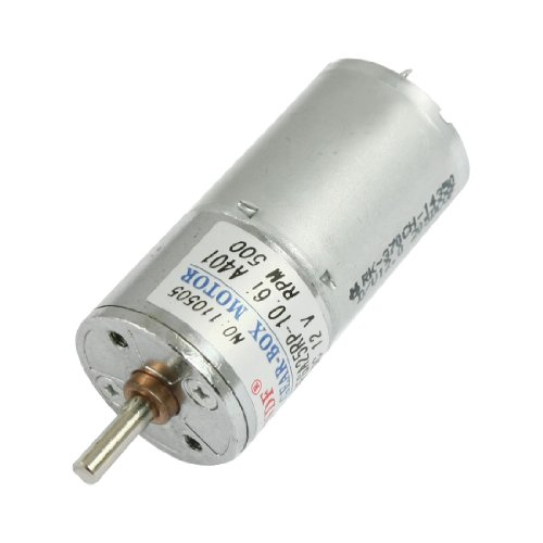 uxcell DC 12V 45mA 500RPM 0.33Kg-cm High Torque Permanent Magnetic Gear Motor