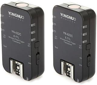 Yongnuo YN622C - Transmisor-receptor-disparador de Flash ETTL inalámbrico para Canon