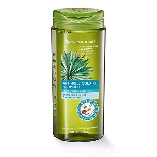 Yves Rocher PFLANZENPFLEGE HAARE Anti-Schuppen Shampoo, Haar-Shampoo gegen Schuppen, ab der 1. Haarwäsche, 1 x Flacon 300 ml