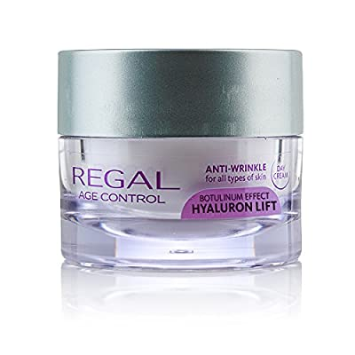 Regal Age Control Intensive Anti Wrinkle Day Cream with Hyaluronic Acid and Argireline - A Great Way To Fight Wrinkles from Regal
