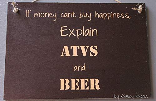 Ced454sy uitleggen ATV's bier geld Cant kopen u geluk vier wielen alle terrein voertuigen Quad Bikes teken