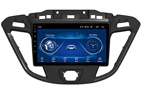 LYHY Android Car Stereo Radio Double DIN Sat Nav Compatible con Ford Custom/Transit 2013-2018 Navegación GPS Reproductor Multimedia con Pantalla táctil de 9 Pulgadas Receptor de Video con 4G RDS DSP
