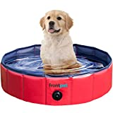 FrontPet Foldable Dog Pet Pool Bathing Tub (32 Inches X 11.8 Inches)
