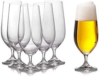 engraved pilsner glasses