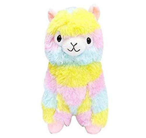 knuffels zacht katoen regenboog alpaca gevulde knuffels pop regenboog paard lama dieren speelgoed voor kinderen verjaardag