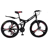 Best Foldable Bikes - Smallrabbit Outroad Mountain Bike for Adult Teens, Review