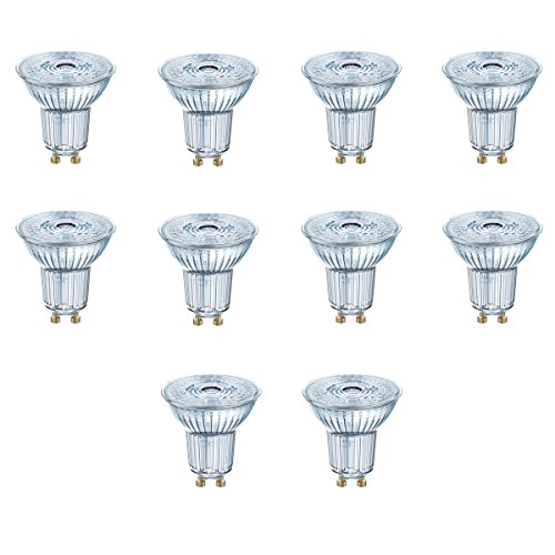 OSRAM LED STAR PAR16 35 GU10 2,6W=35W 230lm 36° Warm Weiß 2700 K nondim A++ 10er