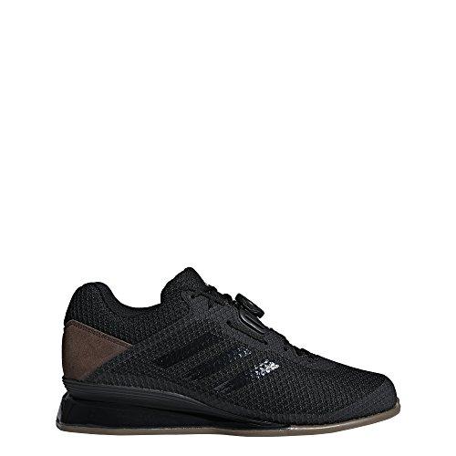 adidas Men's Leistung.16 II Cross Trainer, Black/Black/Carbon, 9 M US