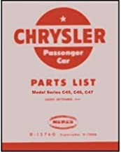 1949 Chrysler Illustrated Factory Parts Manual