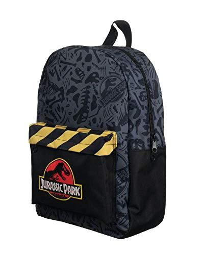 Jurassic Park Logo Backpack Grey 35x45cm