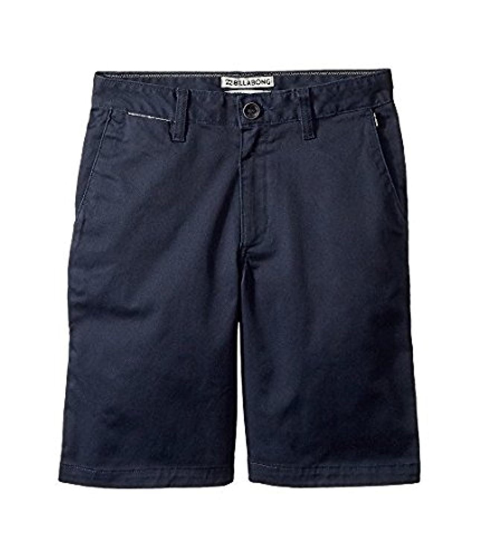 ビラボン Billabong Kids キッズ 男の子 ショーツ 半ズボン Navy Carter Stretch Shorts (Big Kids) [並行輸入品]