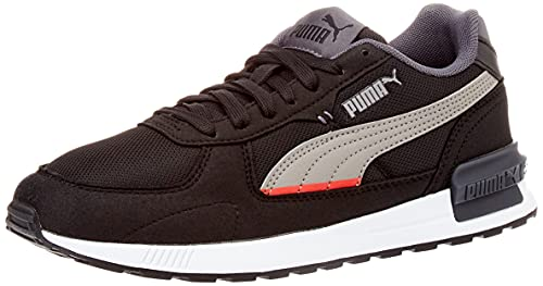 Puma Graviton, Zapatillas Deportivas Unisex Adulto, Black-Steel Gray-Ebony, 42 EU