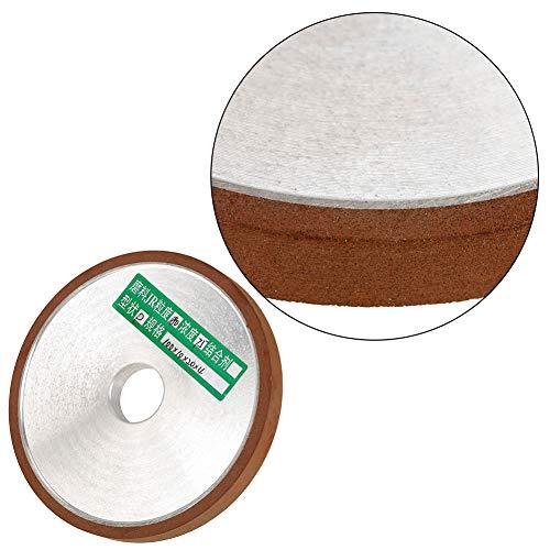Schleifscheibe Scheibe Langlebige Schleifscheiben, Diamantharz 1St. 100 * 20 * 10 mm Schleifwerkzeug, für Schneidwerkzeug Polierkorn 180 Gezahntes Schleifverfahren