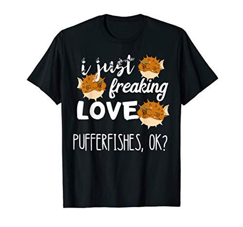 Pufferfische Kugelfisch Ozean Meerestier Aquarien Fugo Fisch T-Shirt
