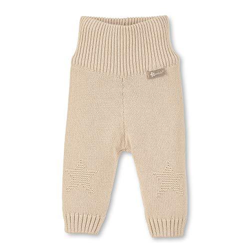 Sterntaler gebreide broek met geribbelde boord, leeftijd: 12-18 maanden, maat: 86, beige, 5701970