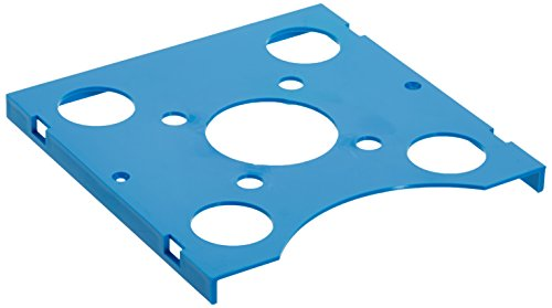 Neolab 2 3004 Tapa y sin Mango para Neostapelrack Policarbonato (Azul)