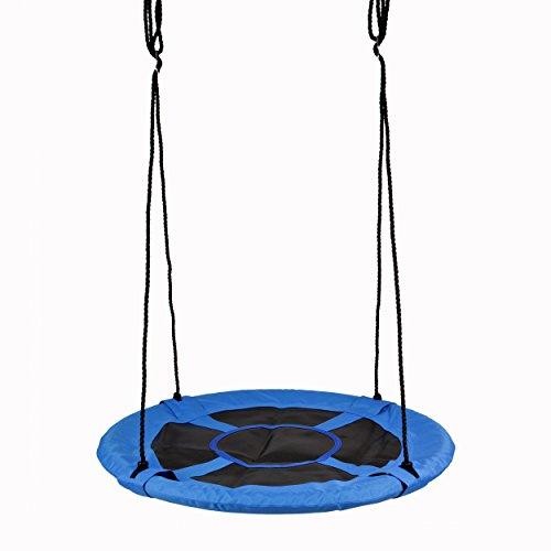 Ocean 5 Nestschommels - Birdy - 100 cm voor Maximaal 2 Kinderen - XXL-Tuinschommel Veerkrachtig tot 150 kg, in Hoogte Verstelbare Kinderschommel voor Buiten