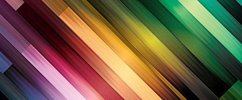 Welt-der-träume | papier peint intissé 130 g/m² | Rayures arc-en-ciel | | 20187 _ Vep-aw | Motif coloré Bandes abstrait Vert jaune Rouge, Multicoloured, VEP (250cm. x 104cm.)