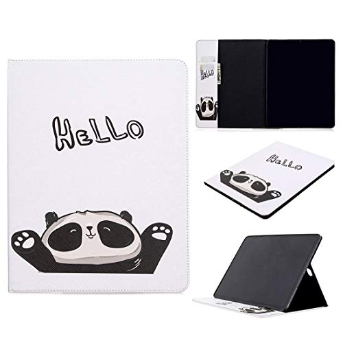 ZHIWEI Tablet PC Bag Pattern Flip Protection PU Leather Wallet Tablet Case For iPad Pro 12.9 2020 Magnetic Ultra-thin Anti-drop Bracket Card Slot Case (Color : Panda)